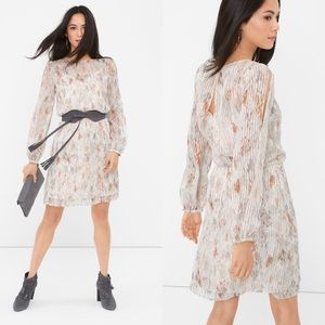 White House Black Market Geo Print Boho Dress